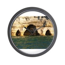 Pictured Rocks D Wall Clock