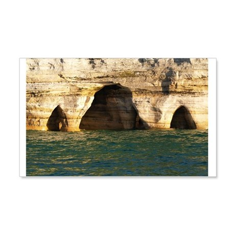 Pictured Rocks D 20x12 Wall Decal