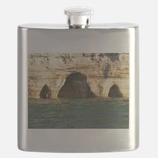 Pictured Rocks D Flask