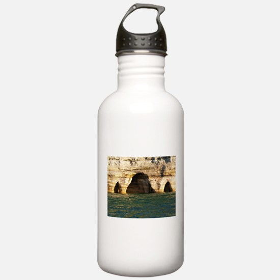Pictured Rocks D Water Bottle
