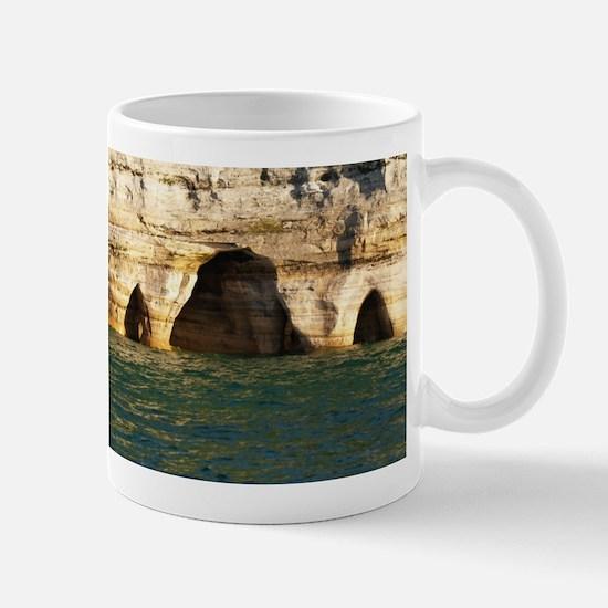 Pictured Rocks D Mug