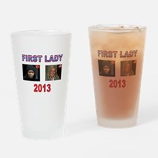 FIRST LADY Drinking Glass