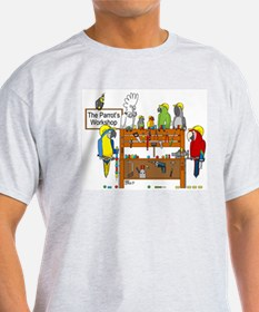 The Parrot's Workshop Logo T-Shirt