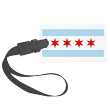 720px-Municipal_Flag_of_Chicago.svg.png Luggage Tag