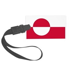 800px-Flag_of_Greenland.svg.png Luggage Tag