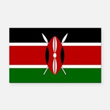 Kenya.svg.png Rectangle Car Magnet