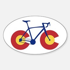 Colorado Flag Bicycle Decal