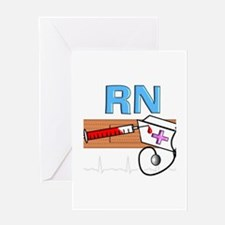RN Blue.PNG Greeting Card