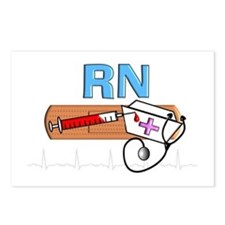 RN Blue.PNG Postcards (Package of 8)