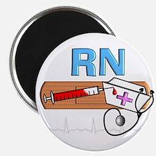 """RN Blue.PNG 2.25"""" Magnet (100 pack)"""