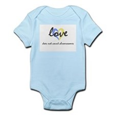 """Love does not count chromosomes"" Infant Creeper"