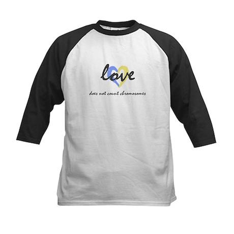 """""""Love does not count chromosomes"""" Kids Baseball Je"""