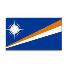 the_Marshall_Islands.svg.png Rectangle Car Magnet
