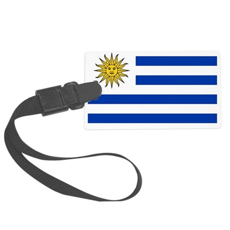 Uruguay.png Large Luggage Tag
