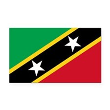Saint_Kitts_and_Nevis.png Rectangle Car Magnet