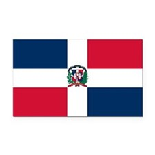 the_Dominican_Republic.png Rectangle Car Magnet
