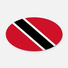 Trinidad_and_Tobago.png Oval Car Magnet