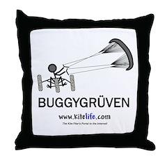 Buggygruven  Throw Pillow