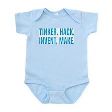 Tinker Hack Invent Make Infant Bodysuit