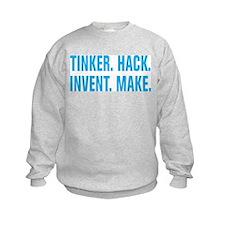 Tinker Hack Invent Make Sweatshirt