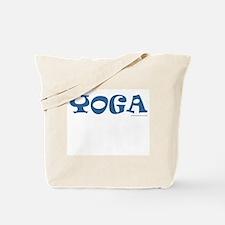 YOGA (Blue) - Tote Bag