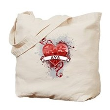 Love Ava Tote Bag