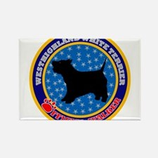 Westhighland White Terrier Rectangle Magnet