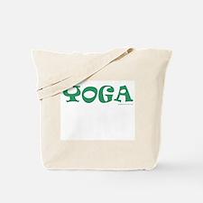 YOGA (Green) - Tote Bag
