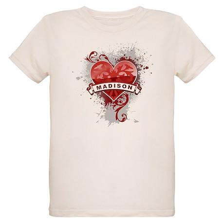 Love Madison Organic Kids T-Shirt