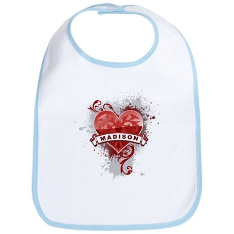 Love Madison Bib