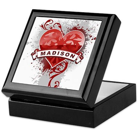 Love Madison Keepsake Box