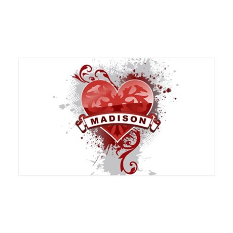 Love Madison 35x21 Wall Decal