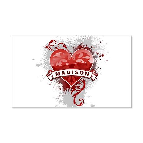 Love Madison 20x12 Wall Decal