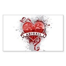 Love Abigail Decal