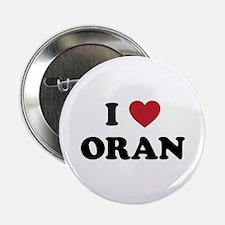 """I Love Oran 2.25"""" Button"""