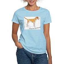 English Foxhound Women's Pink T-Shirt
