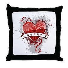 Love Avery Throw Pillow