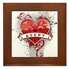 Love Avery Framed Tile