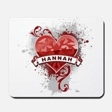 Love Hannah Mousepad
