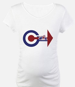 Retro Mod Target and scooter Arrows Shirt