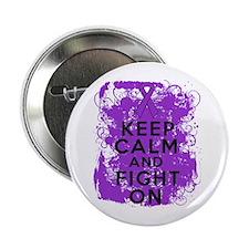 "Leiomyosarcoma Keep Calm Fight On 2.25"" Button"