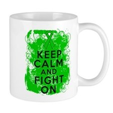 Kidney Disease Keep Calm Fight On Small Mug