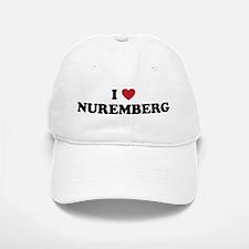 I Love Nuremberg Baseball Baseball Cap