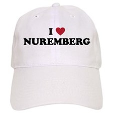 I Love Nuremberg Baseball Cap