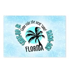 FLORIDA Come Ride the Hurrica Postcards (Package o