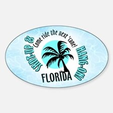 FLORIDA Come Ride the Hurrica Oval Decal