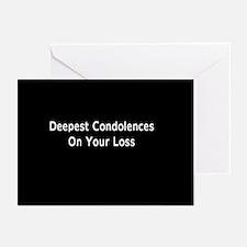 """Dog Condolences"" Greeting Cards (Pk of"