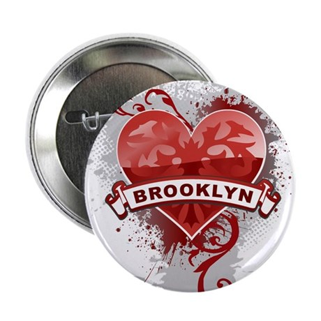"Love Brooklyn 2.25"" Button"