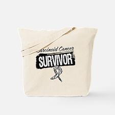 Survivor - Carcinoid Cancer Tote Bag