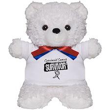 Survivor - Carcinoid Cancer Teddy Bear
